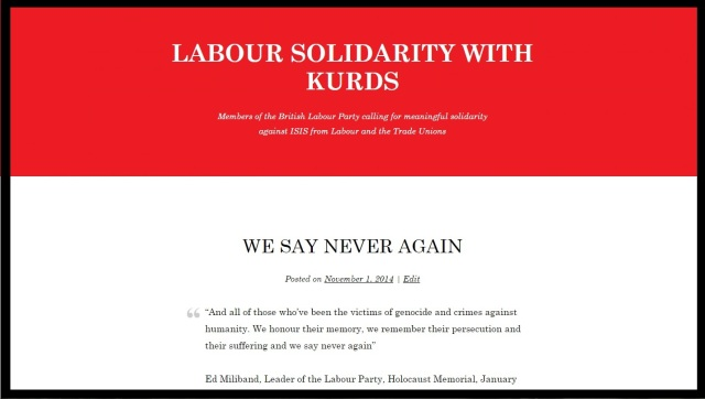 Labour solidary with kurds - header